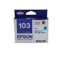 EPSON 103 EXTRA HIGH CAP INK CARTRIDGE CYAN