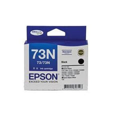 EPSON 73N STD CAP DURABRITE INK CART BLACK