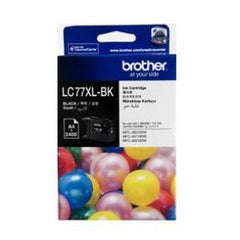 BROTHER LC77XLBK Black Super High Yield Inkjet Cartridge 2 400 pages @ 5%