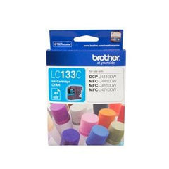 BROTHER LC133C : Ink cartridge Cyan with 600 page yield 5% covereage