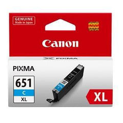 CANON CLI651XLCOCN CYAN INK CART (H/Y)