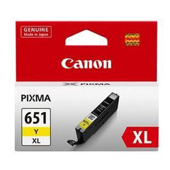 CANON CLI651XLYOCN YELLOW INK CART (H/Y)