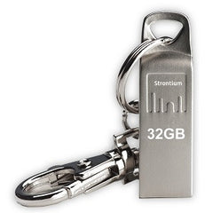 STRONTIUM TECHNOLOGY 32GB USB Flash Drive Ammo Series Silver