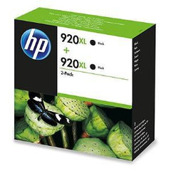 HP 920XL BLACK TWIN-P INK CART E5Y51AA