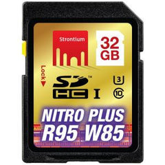 STRONTIUM TECHNOLOGY 32GB Nitro Plus SD Card