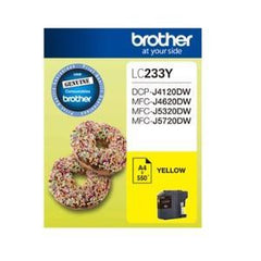 BROTHER LC233Y Yellow 500 pages Ink cartridge