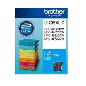 BROTHER LC235XLC Cyan 1200 pages Ink cartridge