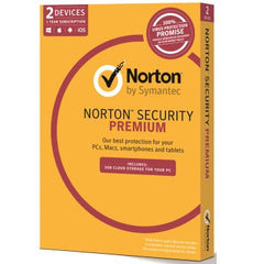 SYMANTEC NORT SEC PREM 3.0 2GB 2 DEV 1YR MM