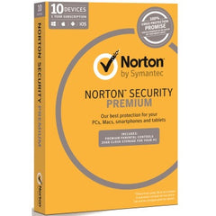 SYMANTEC NORT SEC PREM 3.0 25GB 10 DEV 1YR MM