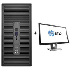 HP 600G2PD MT 256G 8G PC + E232