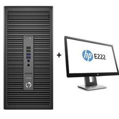HP 600G2PD MT 256G 8G PC + E222