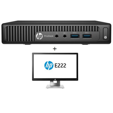 HP 400G2PD DM I5 1T 8G + E222