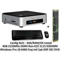 INTEL NUC MINI PC I3-6100U 4GB 120GB SSD W10P