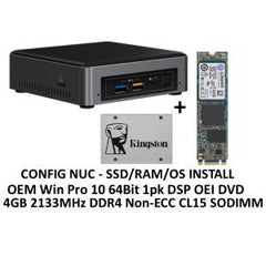 INTEL NUC MINI PC I3-7100U 4GB 120GB SSD W10P