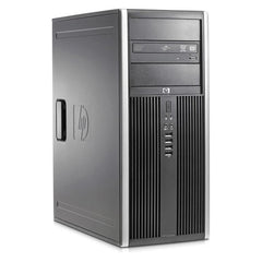HP Compaq 8000 Elite Tower Dual Core 3GHz 4GB RAM 250GB HDD Windows 7 Pro (EX-LEASE)