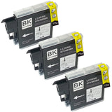 LC39BK Compatible Brother Black Triple Pack