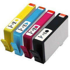 Compatible Ink Set of 4 for HP (Bk/C/M/Y)