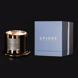 epione signature candle and packaging