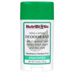 Deodorant Unscented 2.6oz.