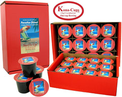 Aloha Island Coffee, Paradise Blend, Surf's Up! Breakfast Blend, 24 ct. Kona-Cups