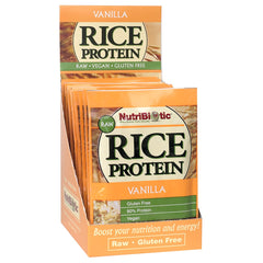 Rice Protein Packets, Vanilla 12ct.