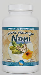 Hawaiian Noni capsules 240 count Value size