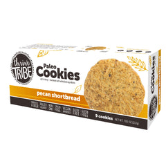 Thrive Tribe Pecan Shortbread Cookies - 7.65 oz - 6 Boxes