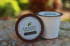 Choffy -Brewed Chocolate - Ivory Coast K.Cups 12 Count