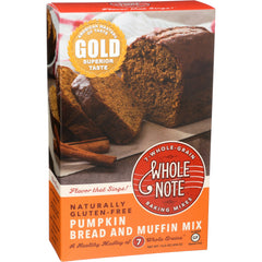 Whole Note Pumpkin Bread & Muffin Mix