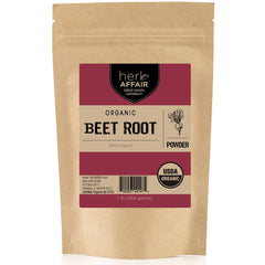 Herb Affair Organic Beet Root Powder, One Pound (1 LB.) Package