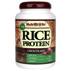 Rice Protein, Chocolate 21oz.