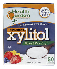 Health Garden Kosher Birch Xylitol Packets 50cnt pack of 4