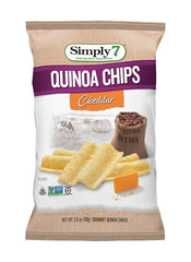 Simply7 Quinoa Chips Cheddar - 3.5oz
