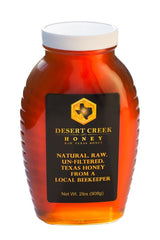 Desert Creek Honey Raw, Unfiltered, Unpasteurized American Honey, 2 lb in Glass Jar