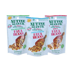 Nuttee Bean Favalicious Whole Roasted Fava Bean Variety Pack Snack