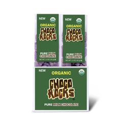 Organic ChocoRocks® (Milk Chocolate) 1.5 oz. Tube - 14 ct.
