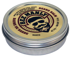 Bee Manly Beard Balm - Organic - Naked