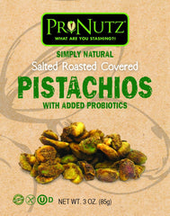 5 Pack Pronutz Salted Roasted With Added Probiotics