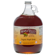 Maple Valley 128oz Grade A Dark & Robust (formerly grade B) Organic Maple Syrup
