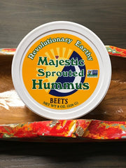 Beet Sprouted Raw Hummus*3 PACK