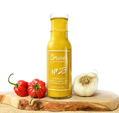 Sauce No. 23 — Fresh Hot Pepper, Garlic & Turmeric Sauce