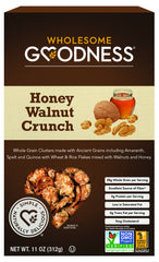 Wholesome Goodness - Cereal - Honey Walnut Crunch