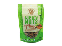 Life's Nuts - Organic Raw Sprouted Cinnamon Pecans