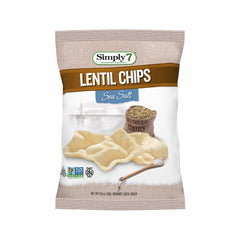 Simply7 Lentil Chips Sea Salt - 0.8oz