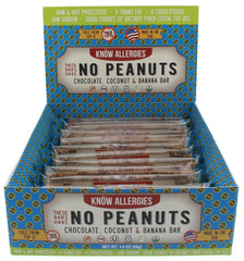 No Peanuts- Chocolate, Coconut & Banana (12-pack)