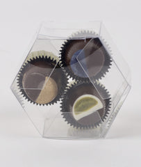 3 Piece Vegan Coffee and Tea Truffle Assortment