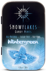 WINTERGREEN sugar-free candy mints