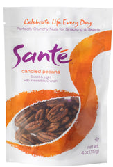 Sante Candies Pecans - Twelve 4 oz. bags