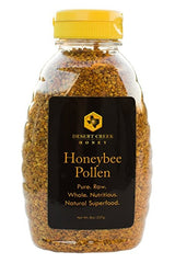 Desert Creek Honey All Natural Raw Premium Honey Bee Pollen, 8 oz.