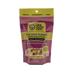Thai Chile Peanuts - 6 Pack